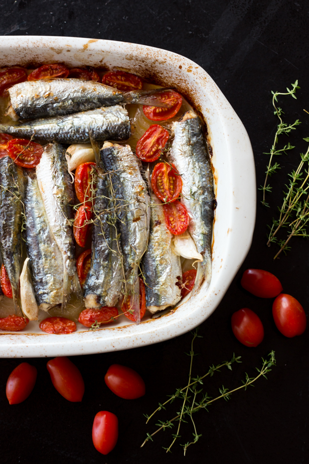 baked sardines the tasty other