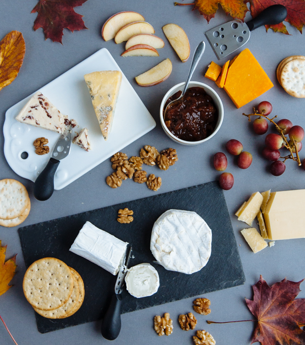 Perfect fall cheese platter