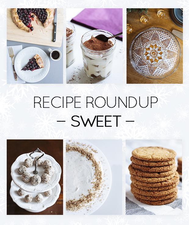 Recipe roundup- desserts
