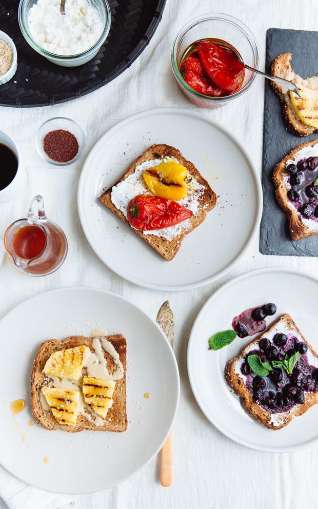 Toast 3 ways