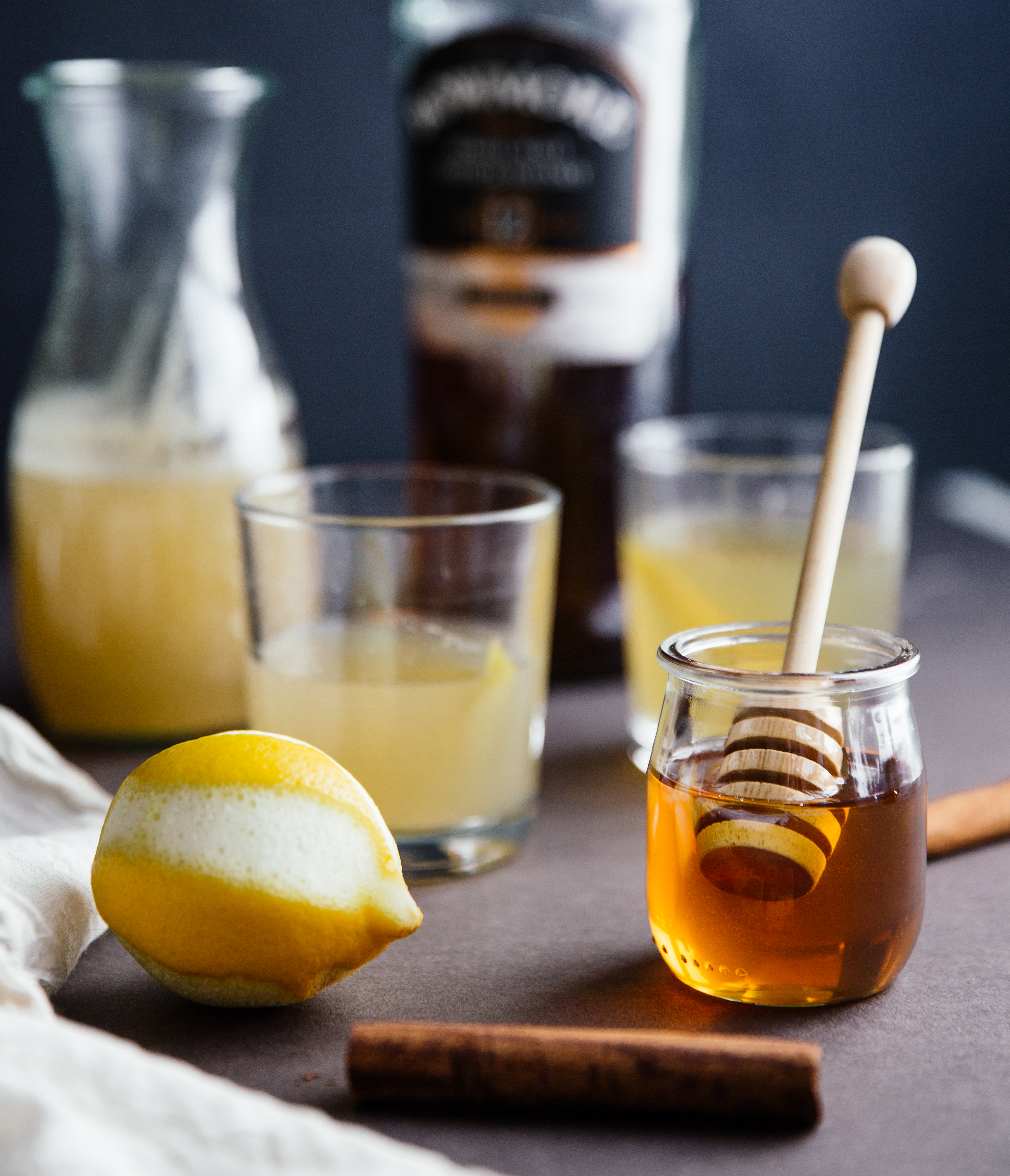 Spicy hot toddy