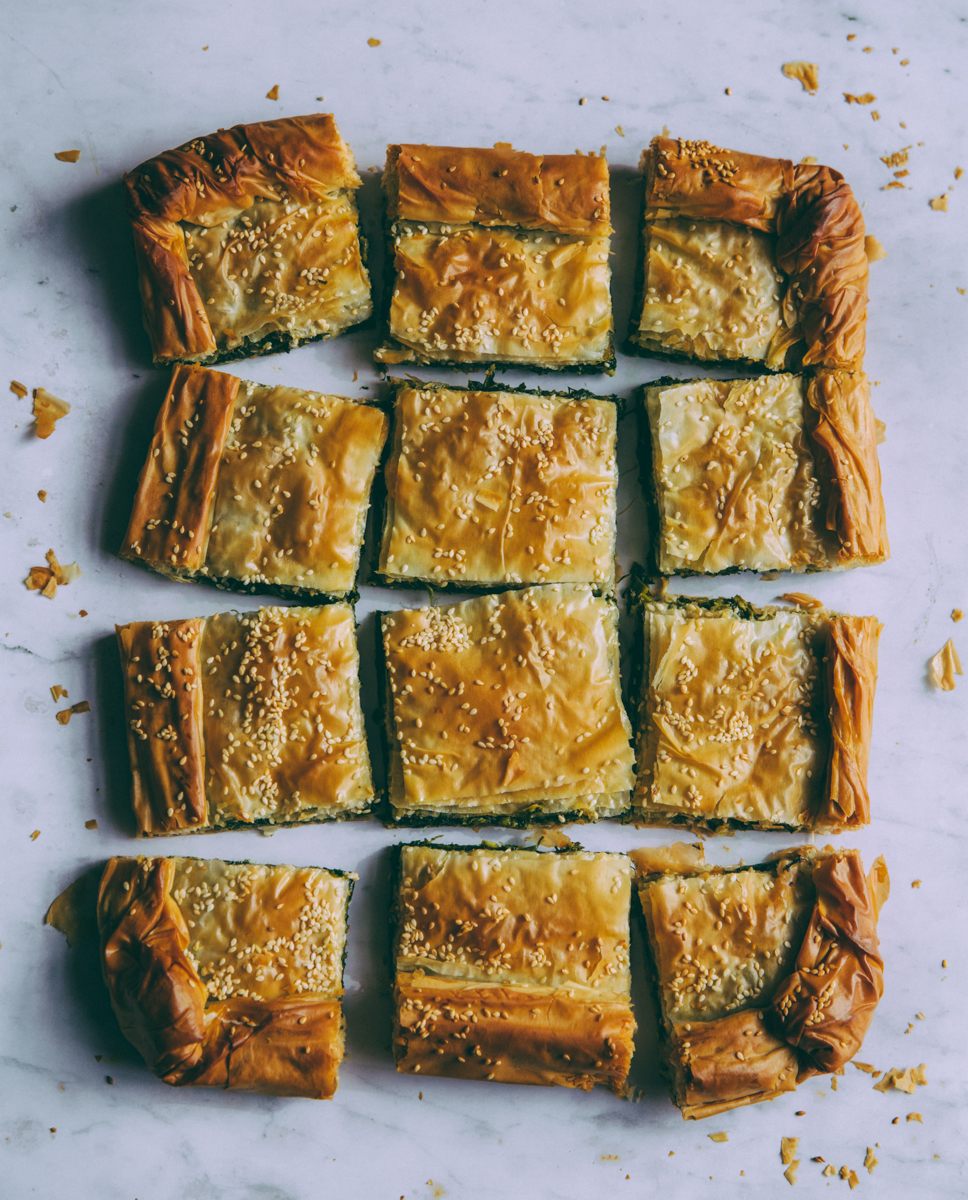 Food for thought- spinach pie