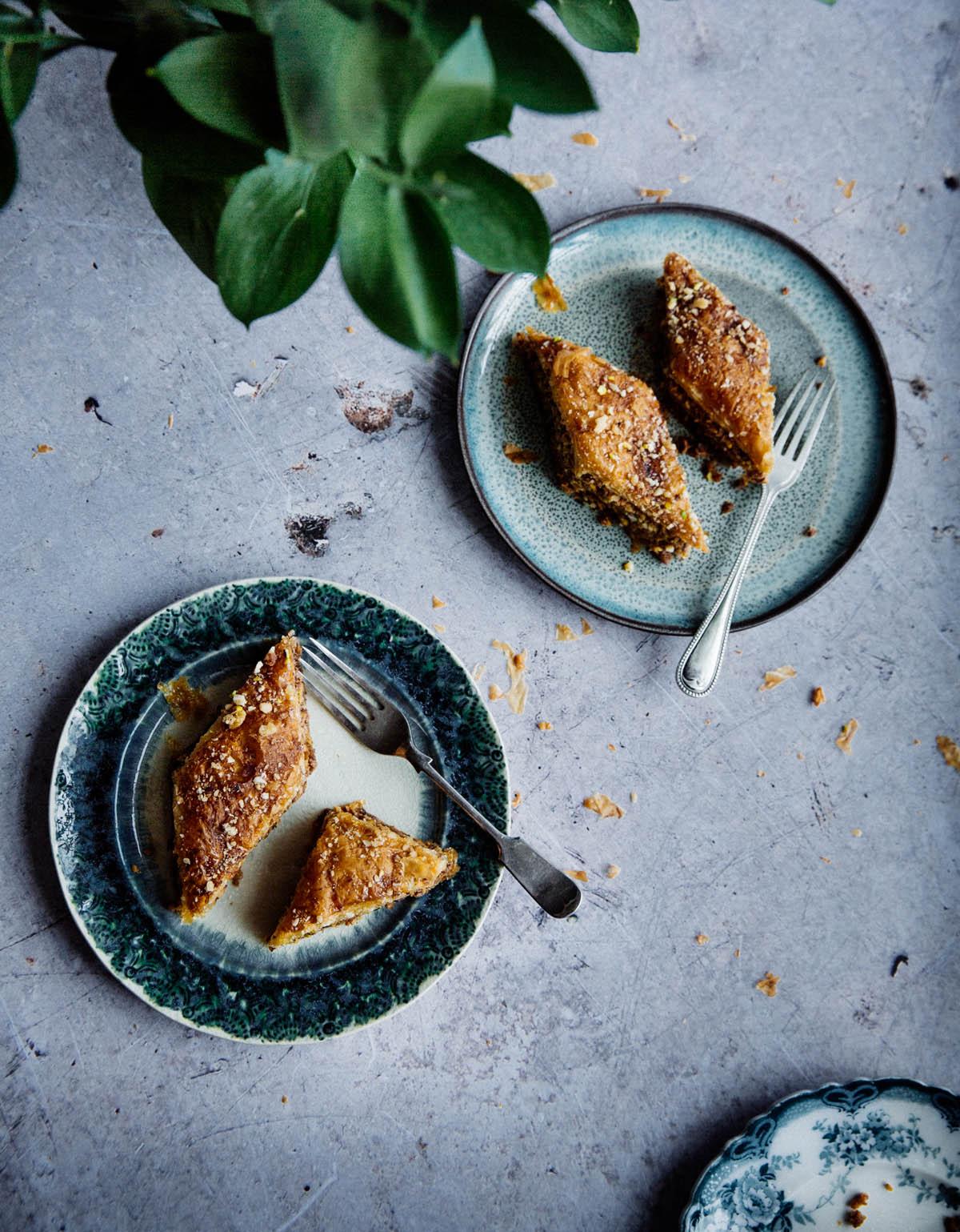 Nutty & crunchy baklava